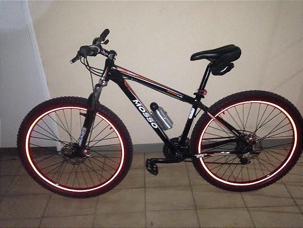 Kit de Frisos liso 10mm para bike aro 24/ 26/27,5/ 29 e 700
