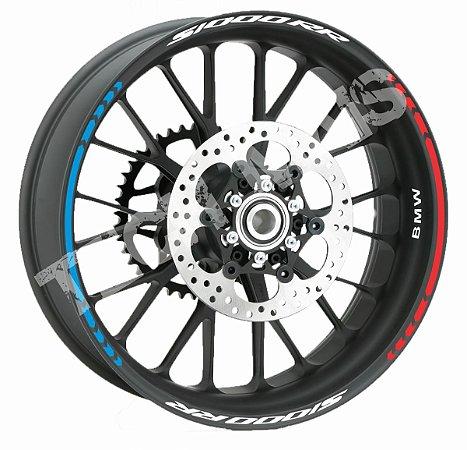 Fita de Roda Friso de Roda Refletivo BMW S1000RR Direcional