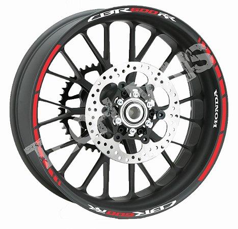 Fita de Roda Friso de Roda Refletivo Honda CBR600RR Abstrato