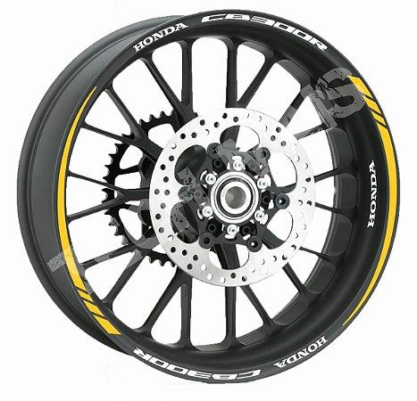 Fita de Roda Friso de Roda Refletivo Honda CB300R Orbital