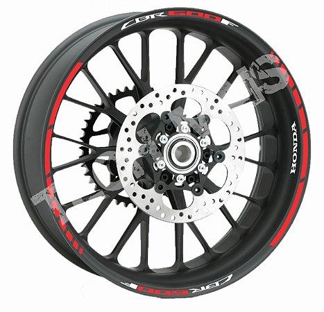 Fita de Roda Friso de Roda Refletivo Honda CBR600F Abstrato