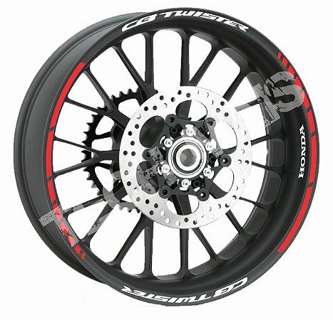 Fita de Roda Friso de Roda Refletivo Honda CB Twister