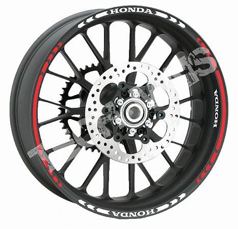 Fita de Roda Friso de Roda Refletivo Honda Direcional