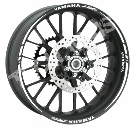 Fita de Roda Friso Refletivo Personalizado Yamaha R6