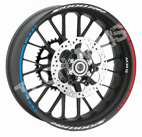 Fita de Roda Refletiva Friso de Roda Refletivo BMW S1000RR