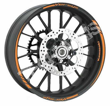 Fita de Roda Friso de Roda Refletivo Kawasaki Versys