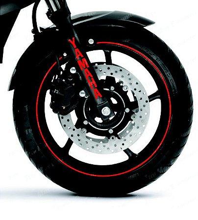 Adesivo Refletivo Yamaha Bengala Refletivo marcas Canela Yamaha
