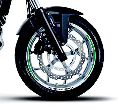 Fita de Roda Friso de Roda Refletivo Honda NC750X Orbital