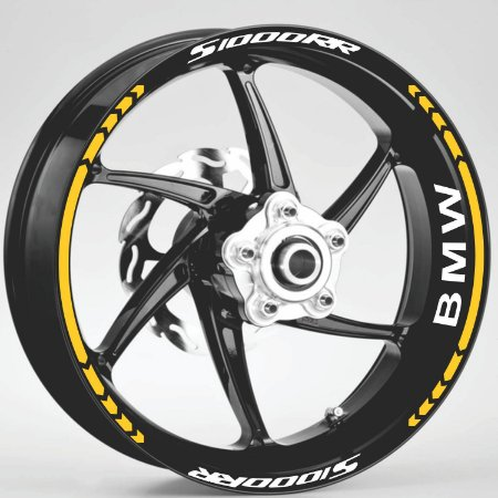 Fita de Roda Friso de Roda Refletivo BMW S1000RR Direcional Adesivo de Roda