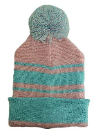 Touca Gorro Masculino Feminino Infantil bebe Personalizado Bordado Rosa Azul 91c2c230d15