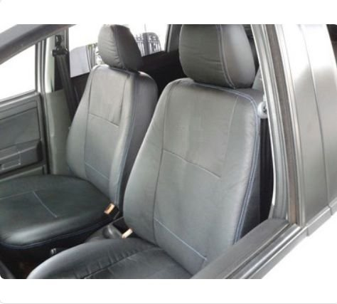 Capa Banco em Courvin Automotivo Preto Ford Ecosport até 2012/12 CarFashion