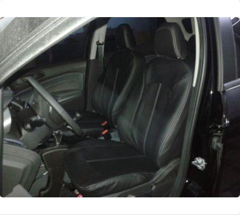 Capa Banco em Courvin Automotivo Preto Ford Nova Ecosport CarFashion