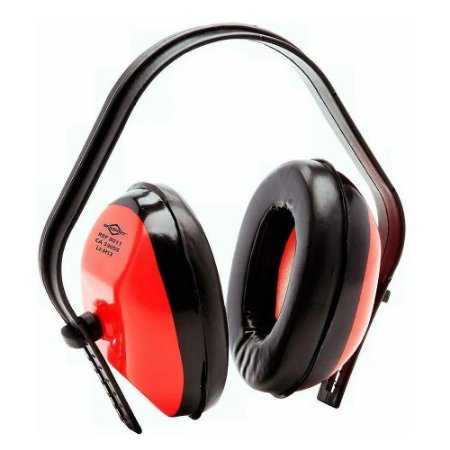 Abafador Ruído Tipo Concha Protetor Auricular Ouvidos