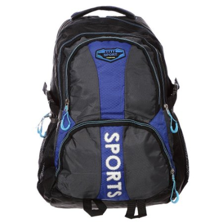 Mochila para Notebook esportiva impermeável escolar Azul Sports