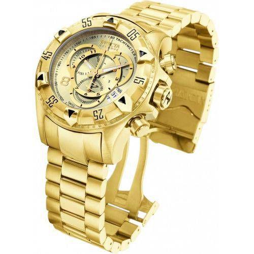 Relógio Gfg6509 Invicta Excursion 6471 Dourado Original Top