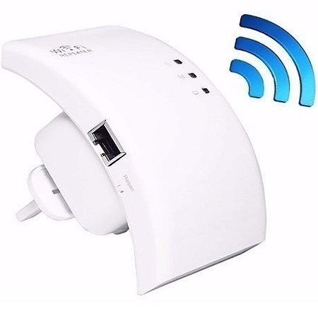Roteador Repetidor Sinal Wifi 300mbps Wps Ap Aumentar Sinal