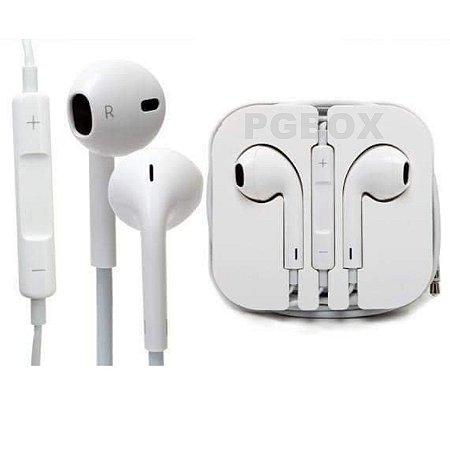 Fone De Ouvido Apple iPhone 4 4s 5 5s 5c 6 6s Plus 1º Linha