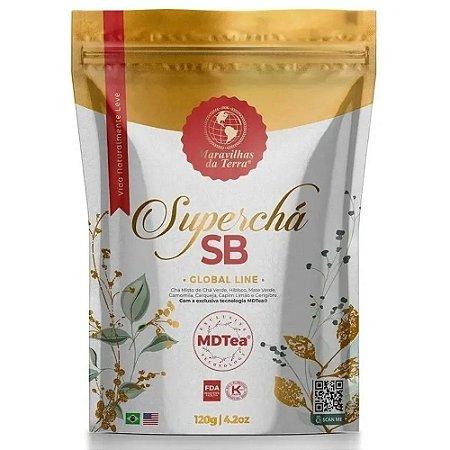 Super Chá SB Maravilhas da Terra Emagreça com Saude Mtdea 120g