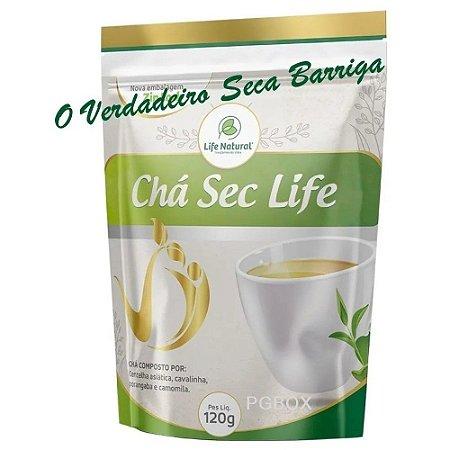 Poderoso Chá Seca Barriga Sec Life 120g Emagreça Com Saúde