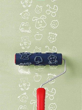 Rolo Para Textura Magiefeito Infantil Com Suporte AT1109 - Atlas