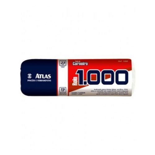 Rolo 1000 Pele de Carneiro 23 cm -  Atlas