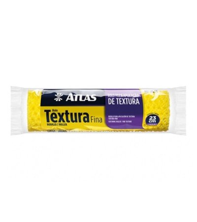 Rolo para Aplicação de Textura Fina 23 cm 110/75 - Atlas
