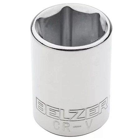 Soquete Sextavado de 18mm com Encaixe de 1/2 Pol. - Belzer