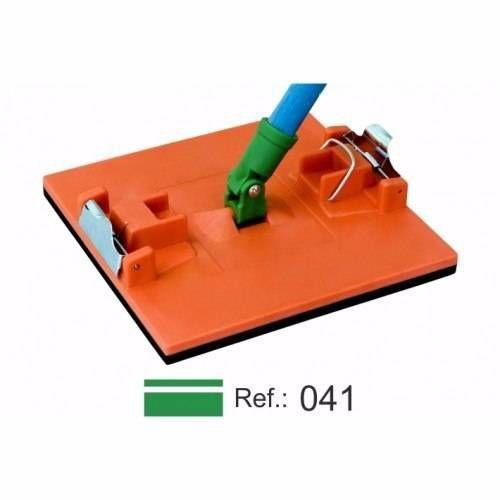 """Lixador Manual """"Grande"""" com Alça/Presilha e Conexão Ref. 041 - Purplex"""