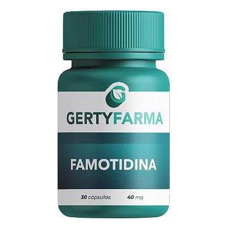 Famotidina 40mg - 30 Cápsulas