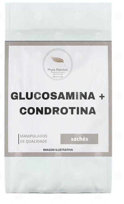 Glucosamina 1,5g + Condroitina 1,2g 60 Sachês Sabor Laranja