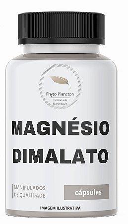 Magnésio Dimalato 300mg 60 Cápsulas