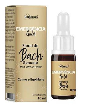 Emergência Gold 10 ml  Uniflowers