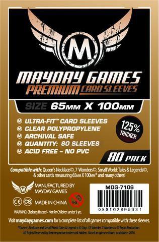 Sleeves Premium 7 Wonders 65 x 100 mm ( Magnum Ultra-Fit) – Mayday