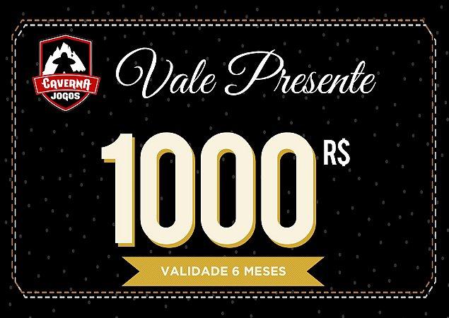 Vale Presente R$1000