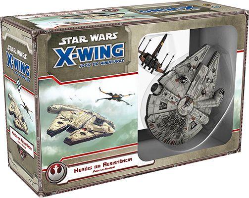 Pré Venda - Heróis da Resistência - Expansão de Star Wars X-Wing