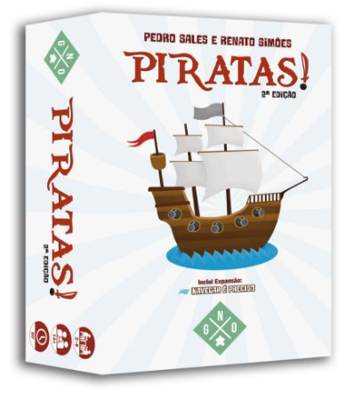 Piratas! 2ª Ed. + Game Log + Playmats