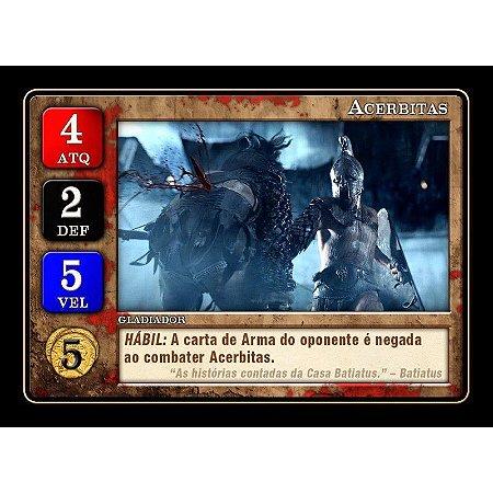 Promo Pack 5 Gladiadores Lendários - Expansão, Spartacus