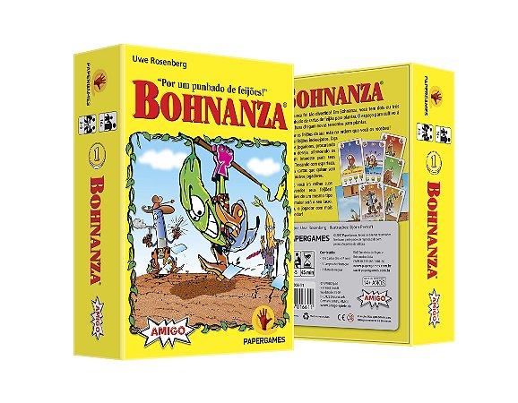 """Pré venda - Bohnanza + Promo """"Feijão Curinga"""""""