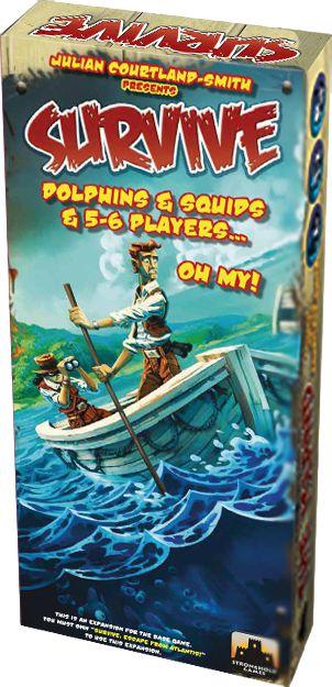 DOLPHINS & SQUIDS & 5-6 PLAYERS… OH MY! - Expansão, Survive: Fuga de Atlântida