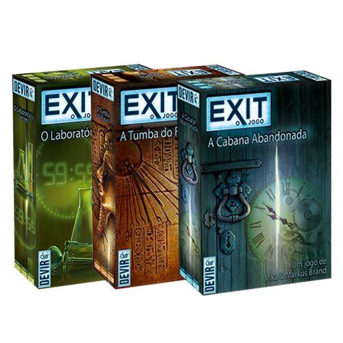 Pré Venda - Exit: Experiencia Máxima (Combo)