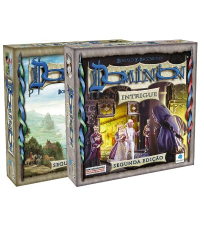 Pré Venda - Dominion (2ª Edição) + Dominion: Intrigue