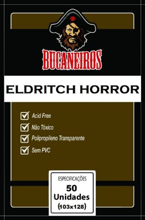 Sleeves 103 x 128 mm (Eldritch Horror) – Bucaneiros
