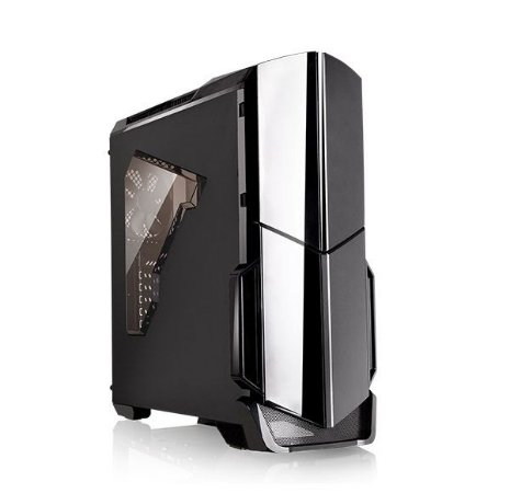 Gabinete Tt Versa N21 Black Case W/window Sgcc Ca-1d9-00m1wn-0