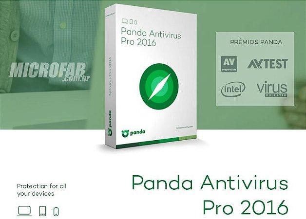 Panda Antivirus Pro 2016 Licença 1 Ano para 1 PC