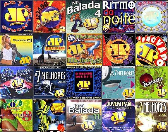 COLEÇÃO CLÁSSICOS DA  JOVEM PAN SÃO 1 PEN DRIVE 8GB 1600 MUSICAS MP3  NOTAL 80 CDS 100% ORGANIZADO EM PASTA E ÁLBUM