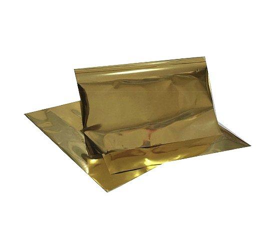 Foil Dourado - Pacote 5 folhas A4 - 1 metro