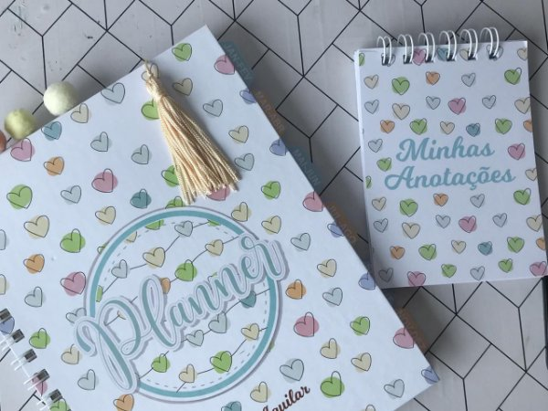 Planner semanal - Capa Personalizável