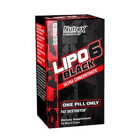 Lipo 6 Black Ultra Concentrado - Nutrex (60 caps)
