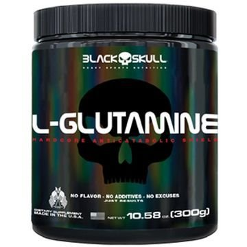 L-Glutamine - Black Skull (300g)