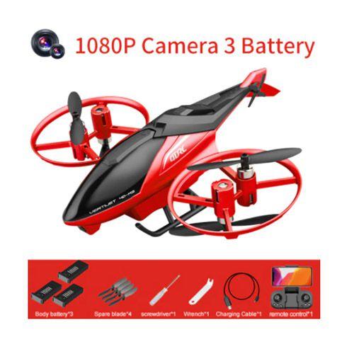 Drone com 3 Velocidades com distancia de 150 Metros Lente Grande Angular HD
